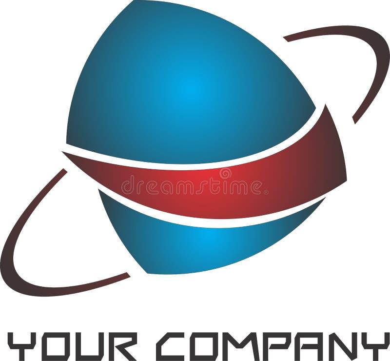 Modern logo stock image
