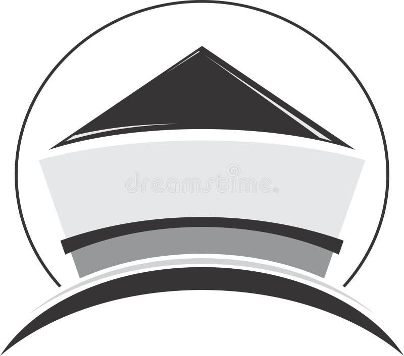 Modern logo royalty free stock photography