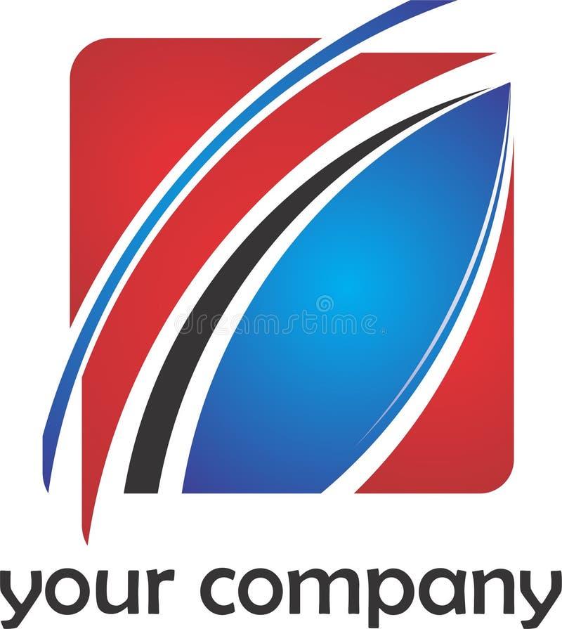 Modern logo royalty free stock photos