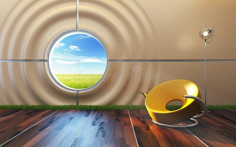 Download Modern Lounge Room Interior Stock Illustration - Image: 17156976