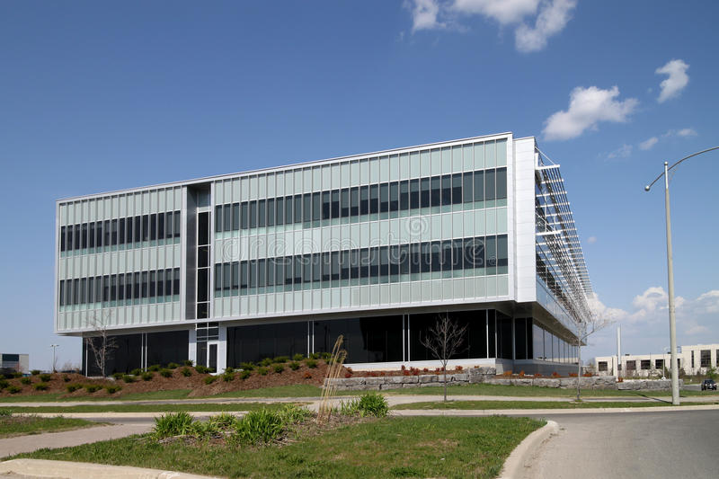 Download Modern Low Rise Office Building Stock Image - Image: 14048267