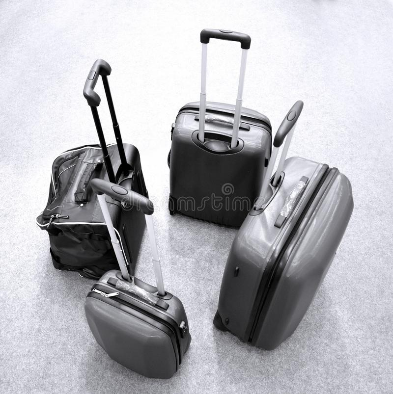 Modern Luggage royalty free stock photography