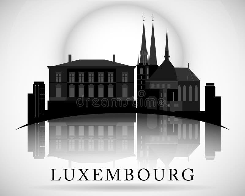 Modern Luxembourg Skyline Design. Vector illustration vector illustration