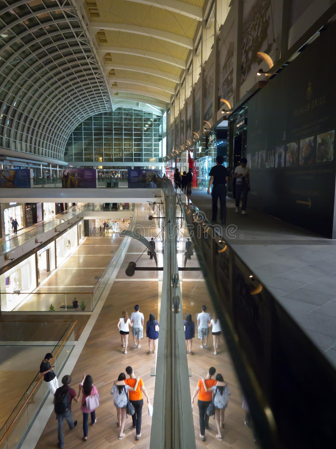 Download Modern, Luxurious Shopping Mall Editorial Photo - Image: 20950531