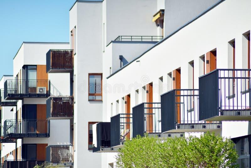 Download Facade Of A Modern Apartment Building. Stock Image   Image Of  Modern, Facade