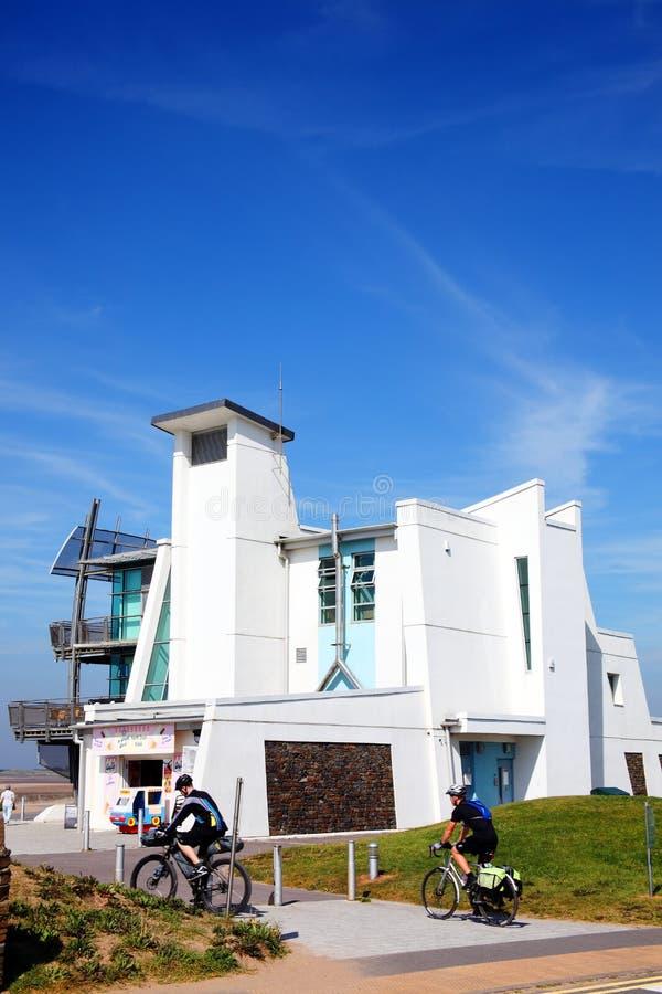 Modern luxury apartments. Modern luxury flat apartments in Llanelli, Carmarthenshire, Wales, UK royalty free stock photo