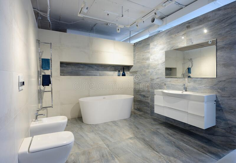 945 Modern Interior Bathroom Exclusive Design Photos Free Royalty Free Stock Photos From Dreamstime