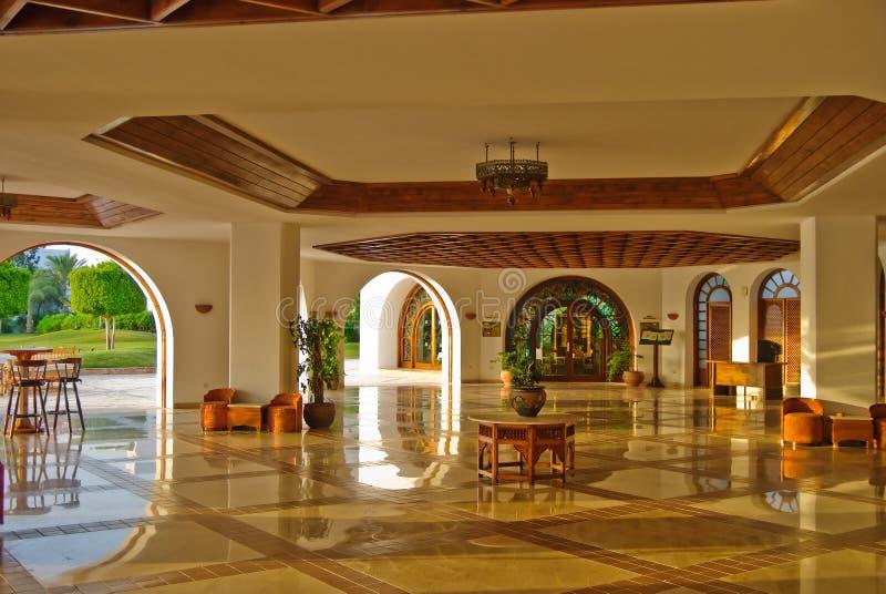 Modern luxury hotel stock photography