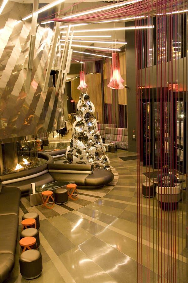 Modern Luxury Hotel Lobby Editorial Photo