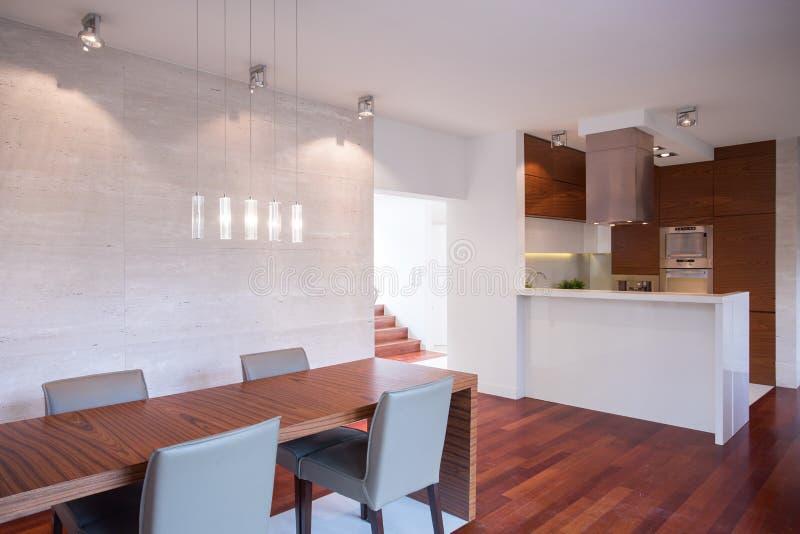 Modern luxury interior royalty free stock photos
