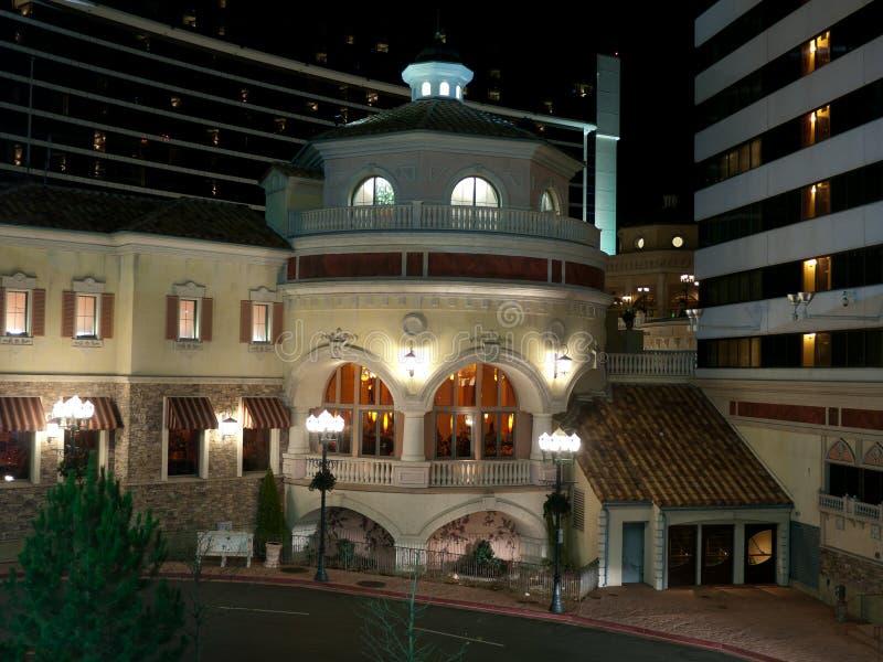 Modern Lyxig Restaurangbyggnad Arkivfoton