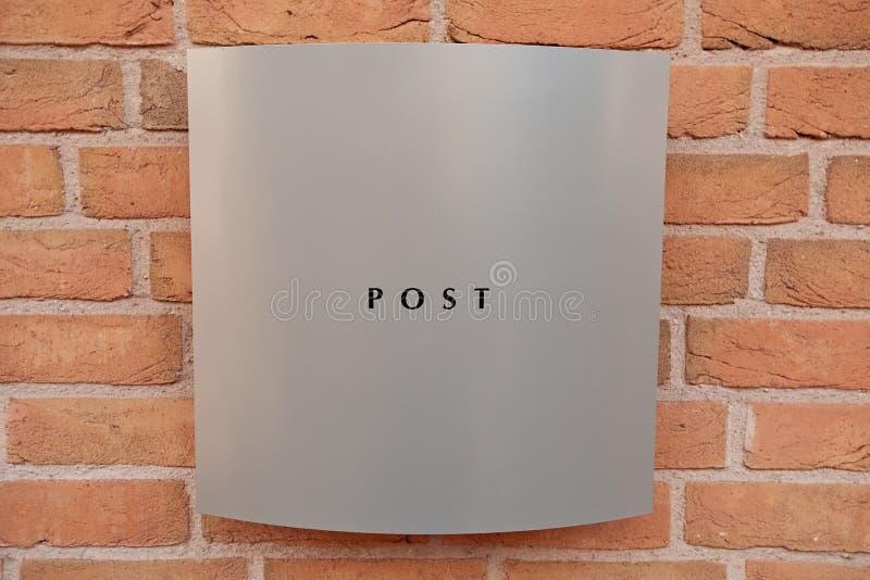 Download Modern Mail Box Stock Photos - Image: 8421403