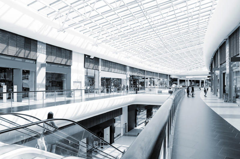 Download Modern mall stock image. Image of display, mall, design - 33514601