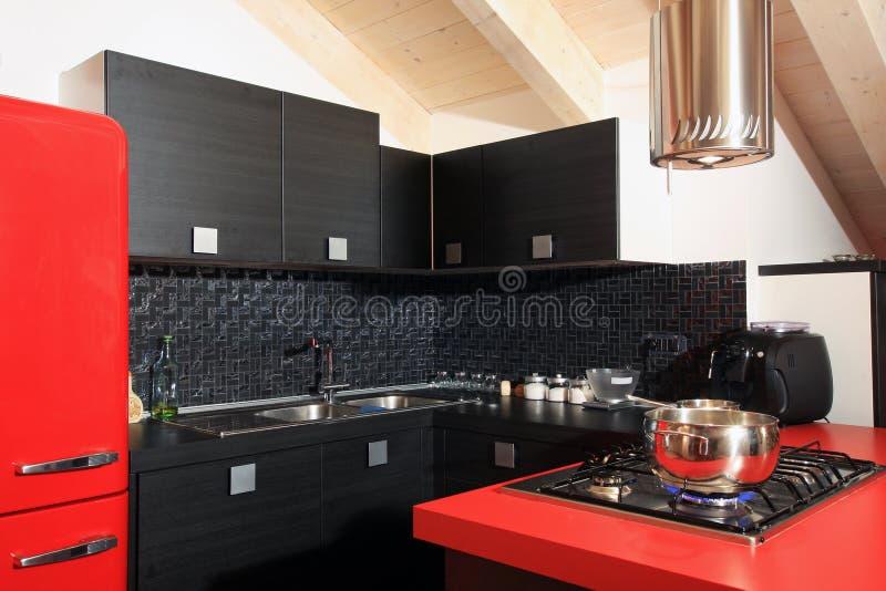 Download Modern mansard stock image. Image of saucepan, penthouse - 17473633
