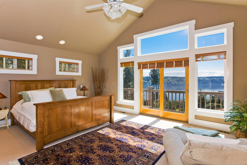 Download Modern Master Bedroom Royalty Free Stock Photos - Image: 21745328