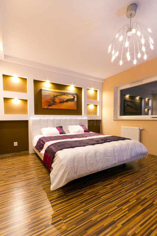 Download Modern Master Bedroom Interior Stock Photo - Image: 25299810