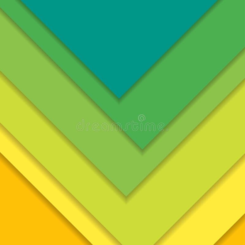 Modern materiell design för bakgrund också vektor för coreldrawillustration vektor illustrationer