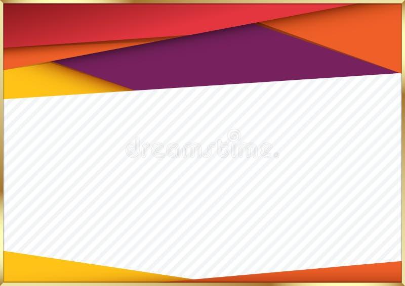 Modern materiell designbakgrund också vektor för coreldrawillustration royaltyfri illustrationer