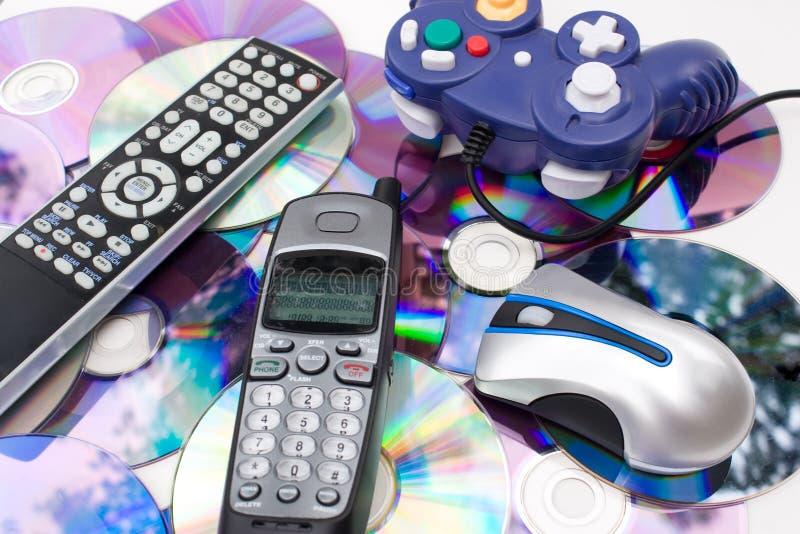 Download Modern Media Controllers stock image. Image of digital - 11017391