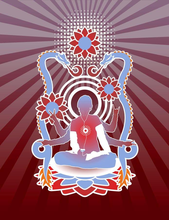 Download Modern Meditation Royalty Free Stock Image - Image: 14451816