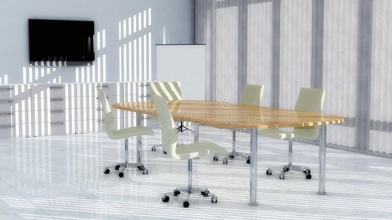 Download Modern Meeting room 02 stock illustration. Illustration of room - 21588786