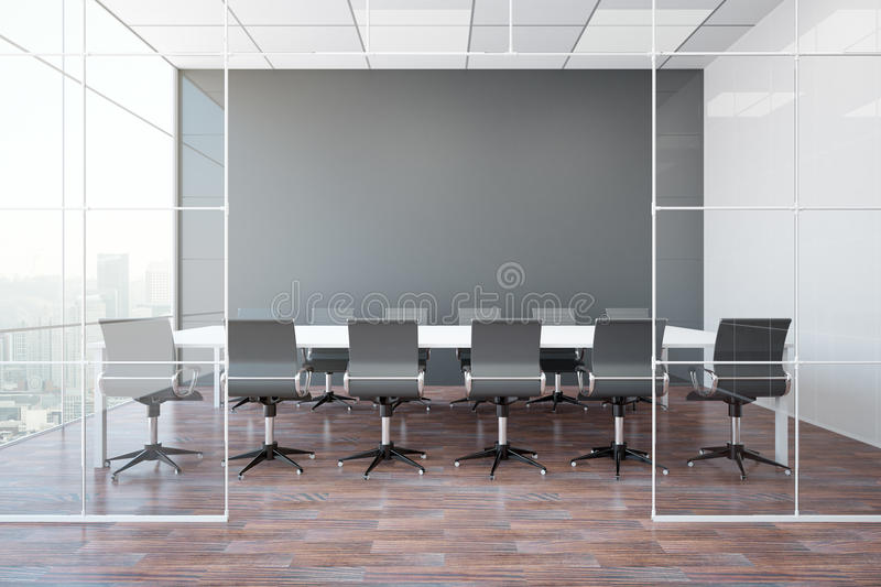 modern wooden chair front view. Download Modern Meeting Room Stock Illustration. Illustration Of Management - 85155685 Wooden Chair Front View S