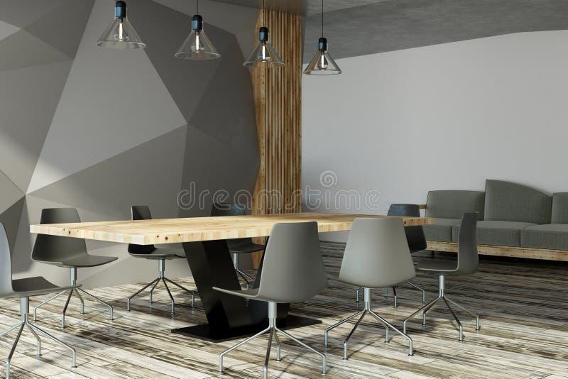 download modern meeting room interior stock illustration illustration of concrete blank 114402103