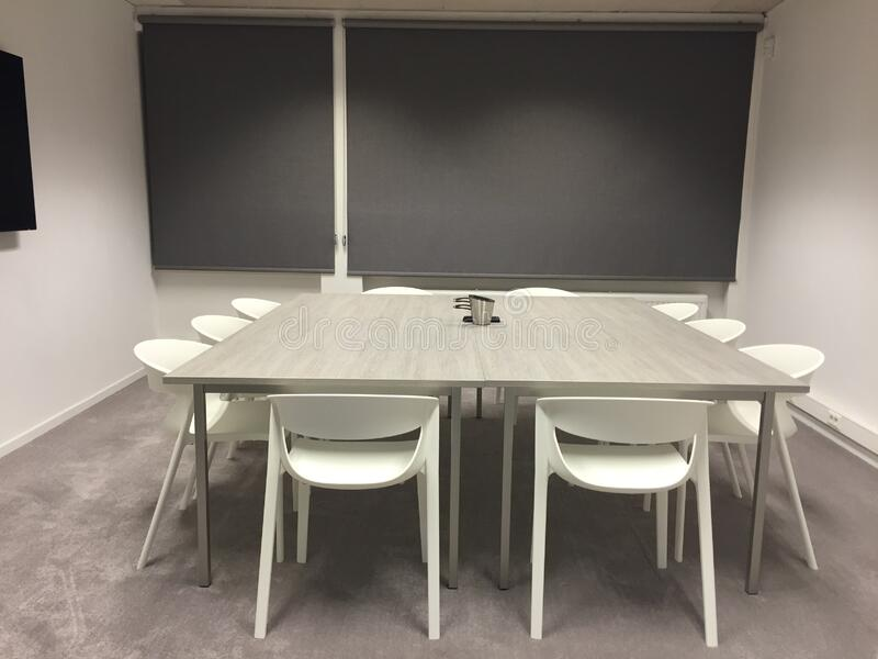 Modern meeting room royalty free stock photography