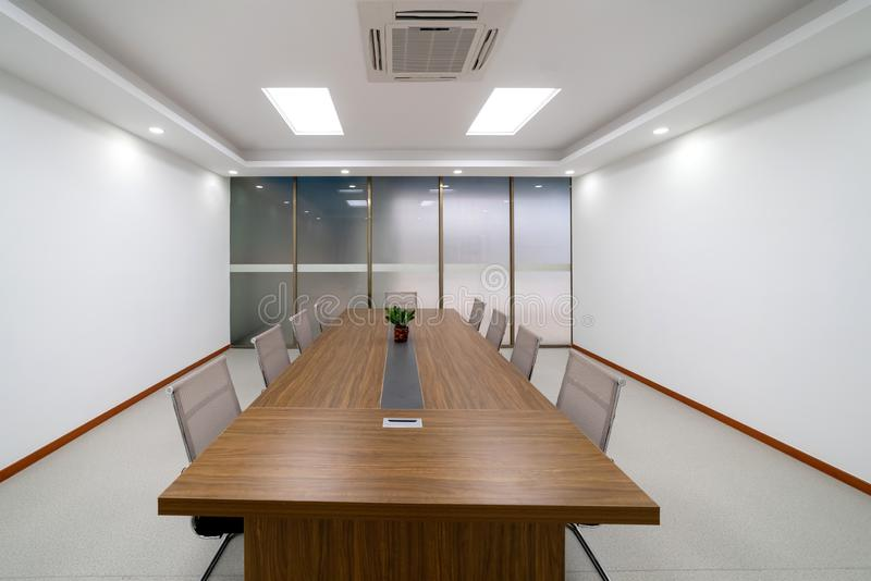 Modern meeting room. Is Modern meeting room workplace