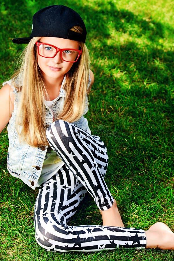 Modern Meisje stock foto's
