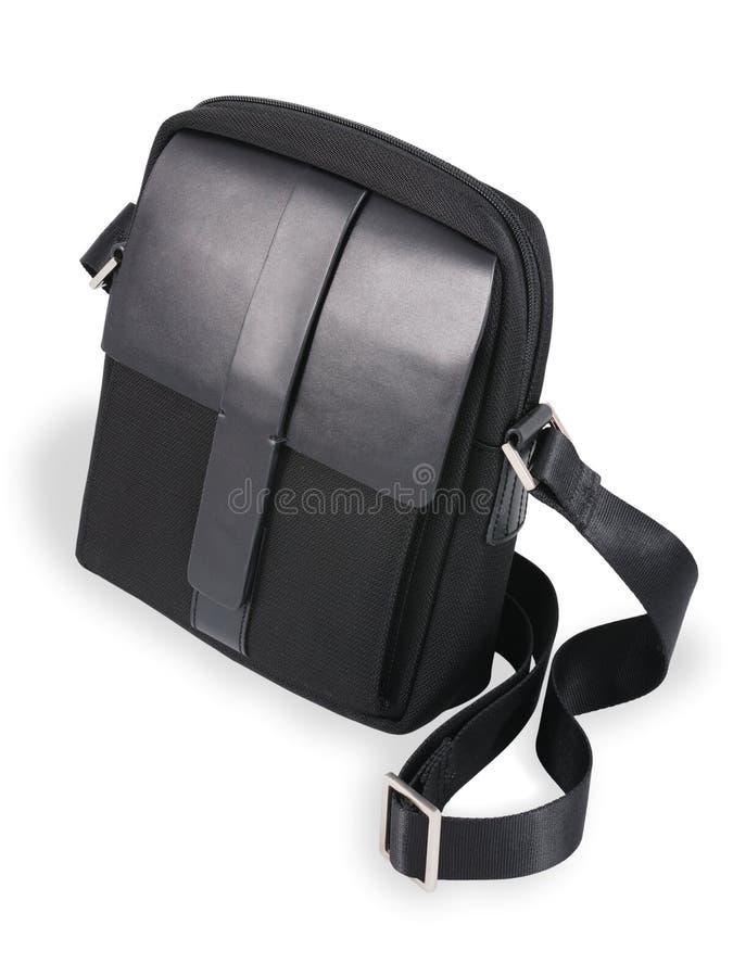 Modern men's bag royalty free stock photo
