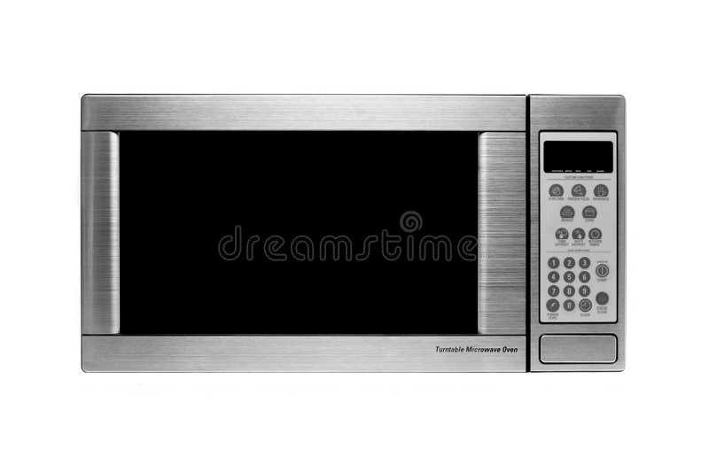 Modern microwave oven vector illustration