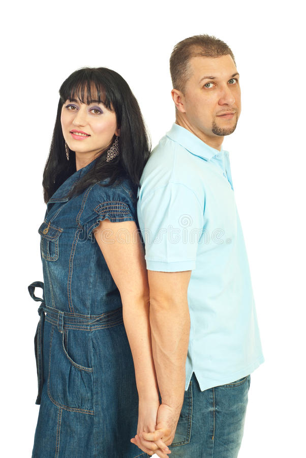 Download Modern mid adult couple stock image. Image of dress, people - 18812629