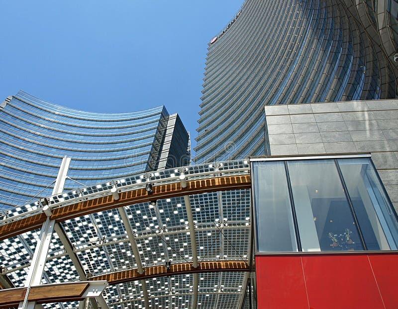 Modern Milaan stock afbeeldingen