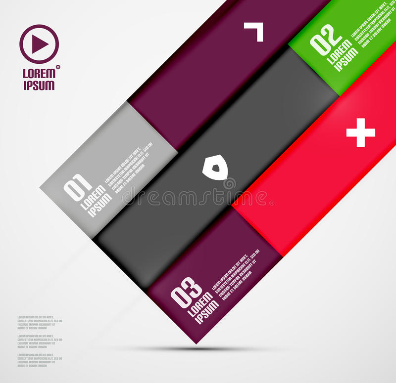 Download Modern Minimal Infographics Royalty Free Stock Photography - Image: 33028307