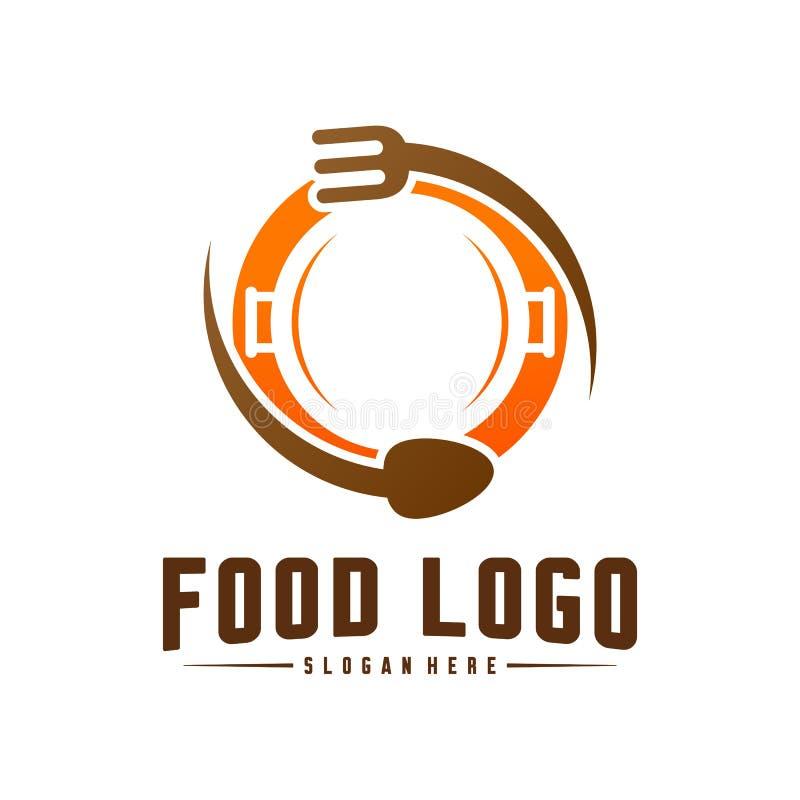 Modern Minimalist Vector Logo Of Food Cooking Logo Template