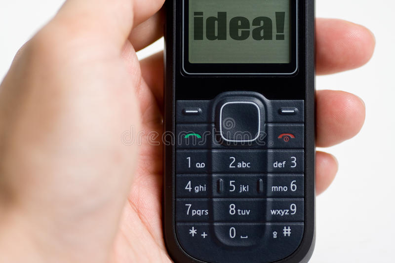 Download Modern Mobile Or Cell Phone Stock Photo - Image: 10481392