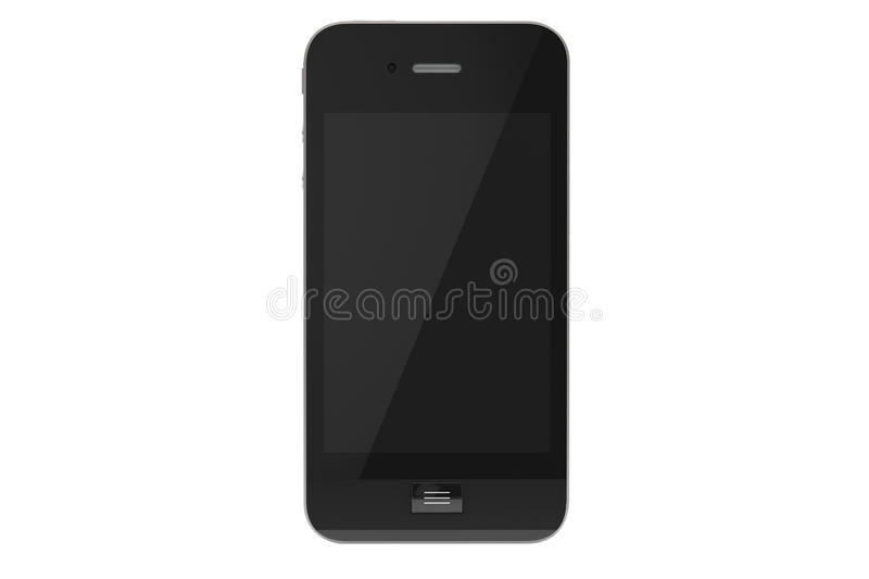 Download Modern Mobile phone stock illustration. Image of call - 25584560