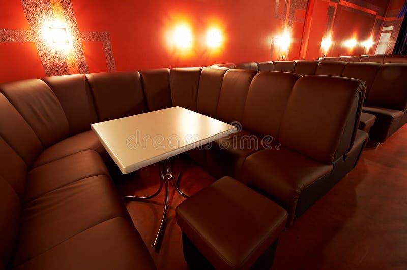 Modern nattklubb arkivfoto