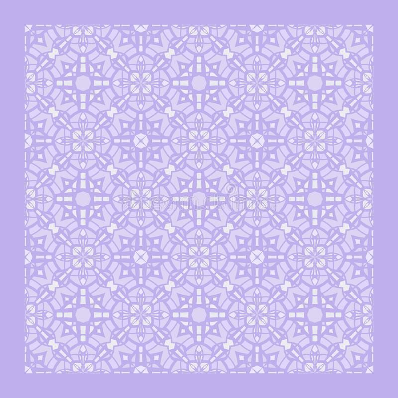 Netrivail abstract floral geometric pattern, background, vector seamless vector illustration
