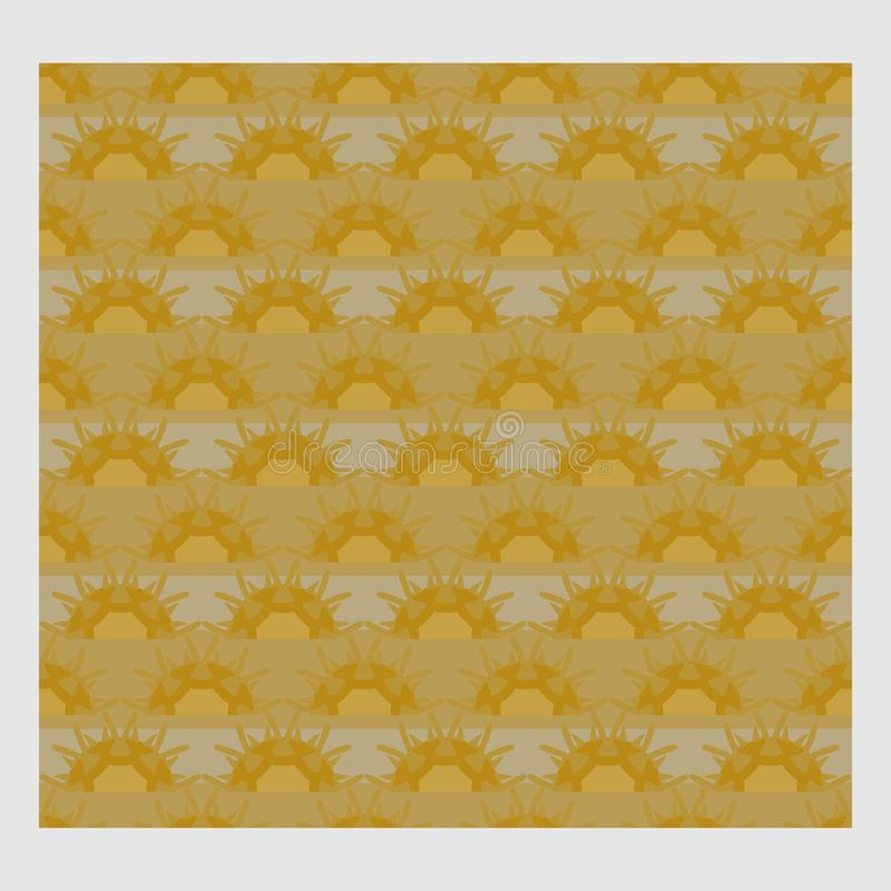 Netrivail abstract floral geometric pattern, background, vector seamless royalty free illustration