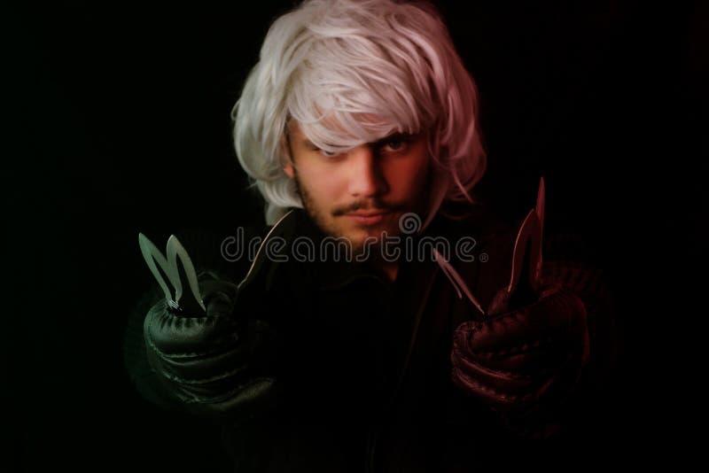 Modern ninja royaltyfri fotografi