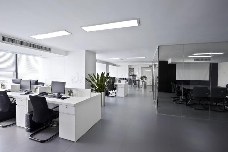 Modern office stock image