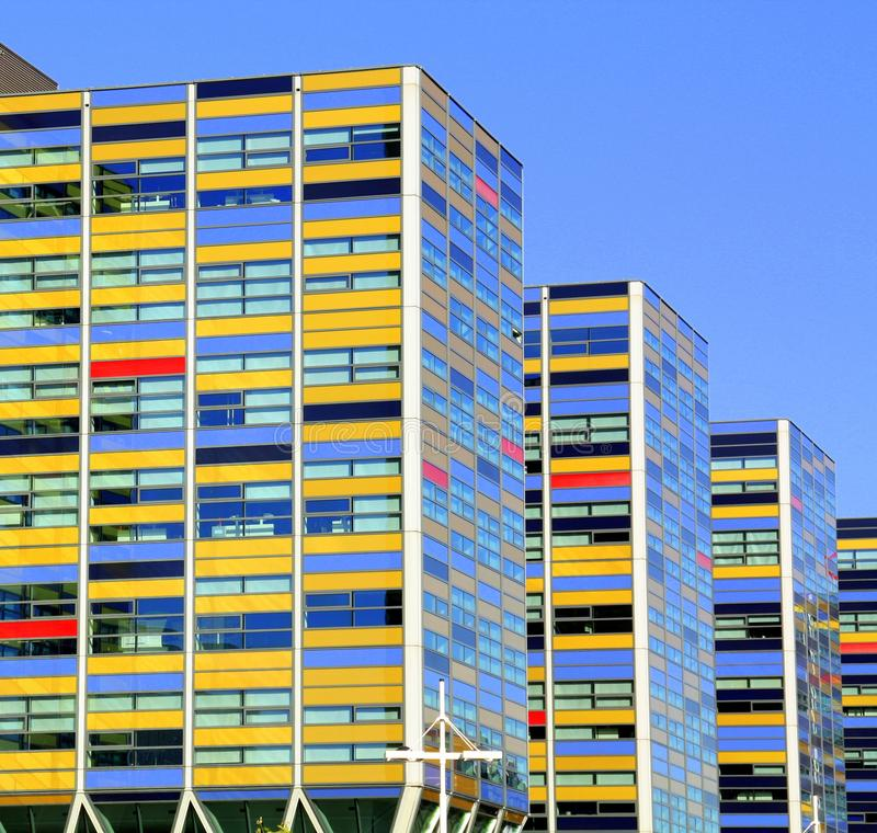 Modern office architecture. Leiden. royalty free stock images