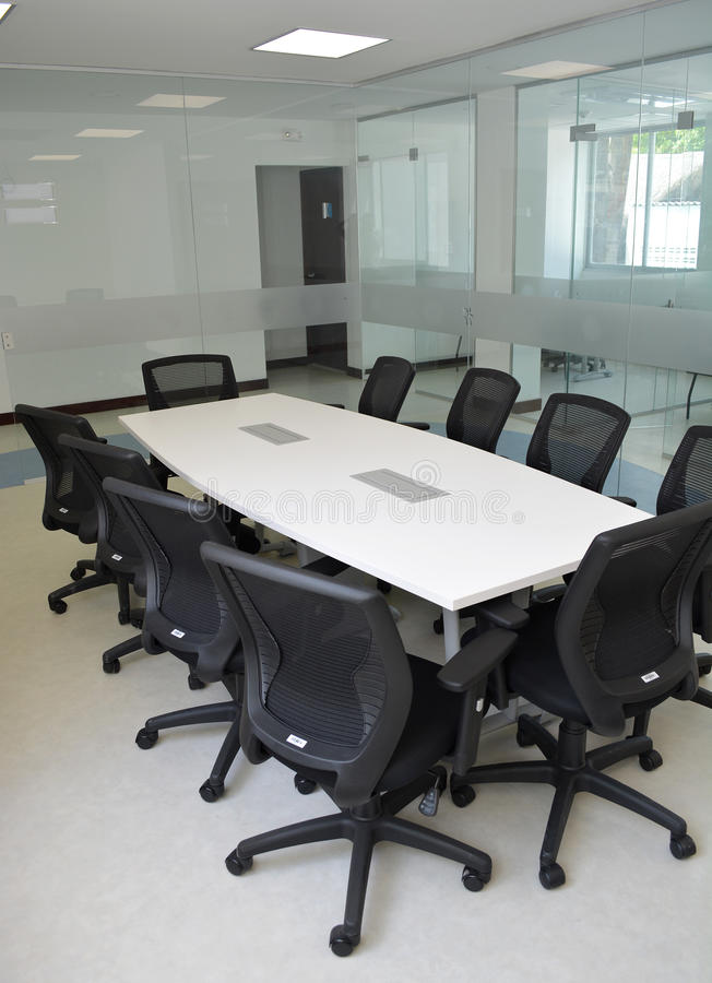 Modern Office boardroom. Modern Office boardroom exclusive design stock photography