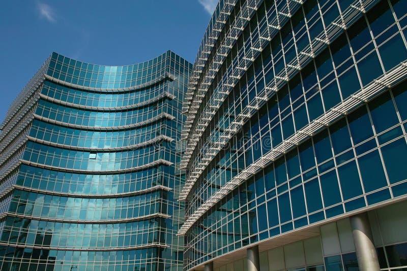 Download Modern office building stock image. Image of blue, large - 16918285