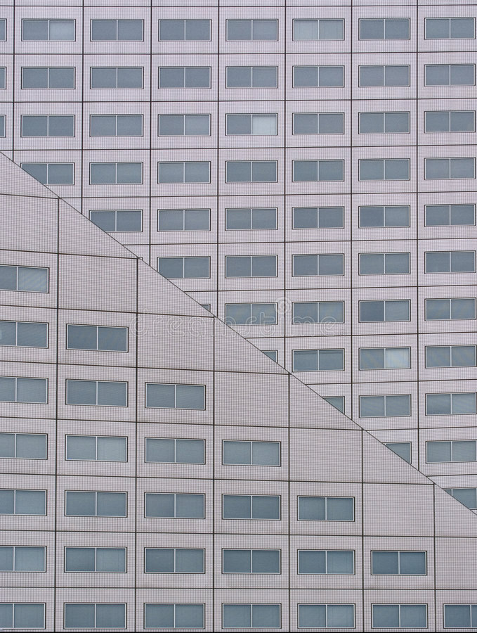 Modern office building 4 royalty free stock image