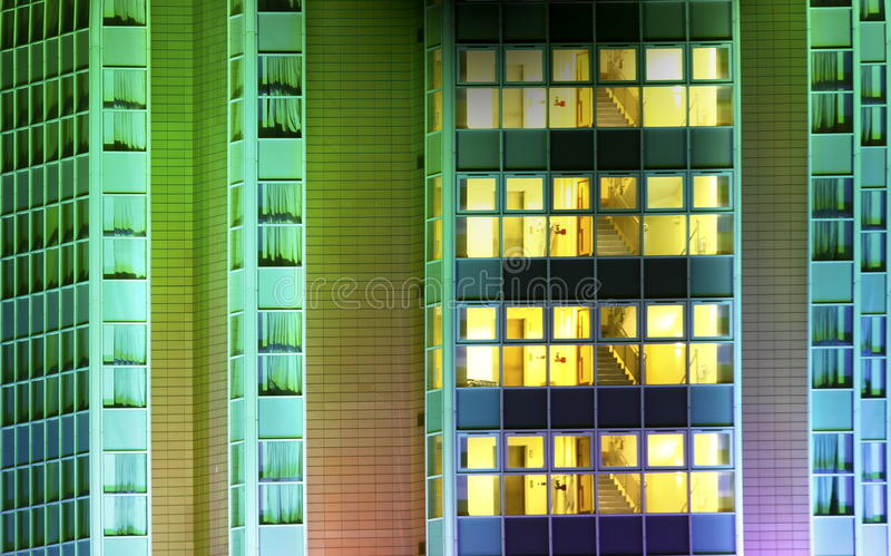 Modern Office Building Abstract stock image