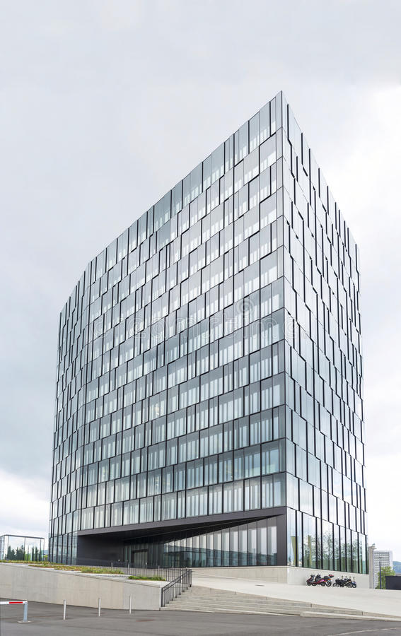 Modern office building for business stock photos