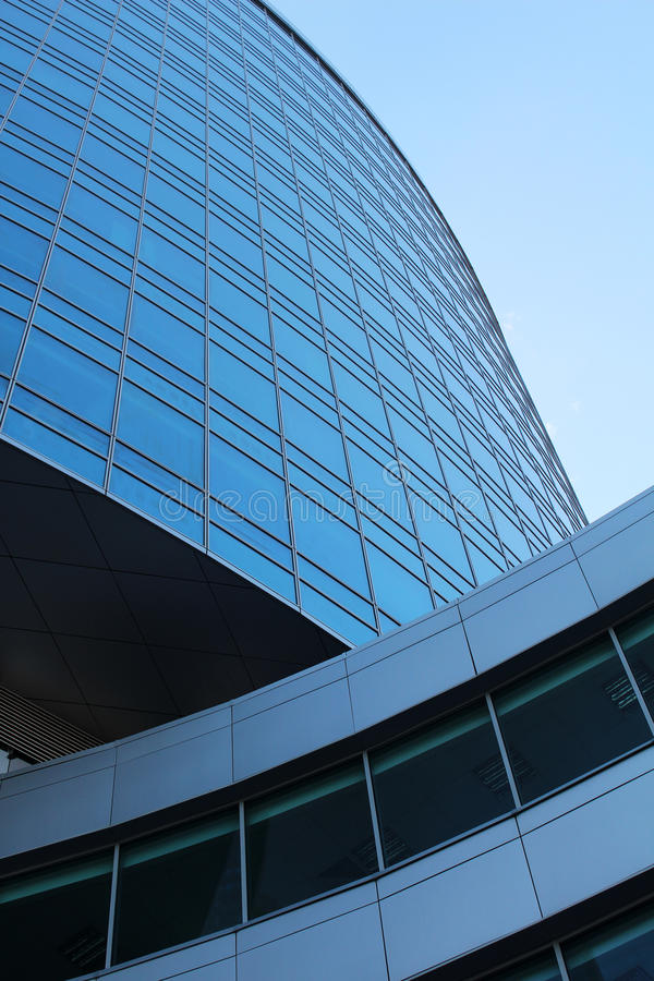 Modern office building close up stock photography